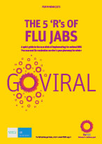 The 5 'R's of Flu Jabs Booklet